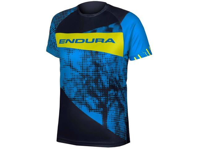 Endura MT500 Camiseta Manga Corta Niños, azure blue